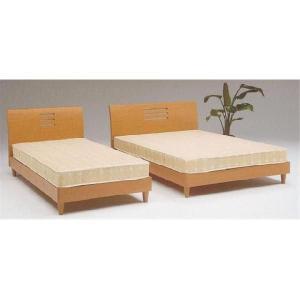 ベッド ベット シングル フレーム ナチュラル(マットレス別売) ウイーン|cestlavie