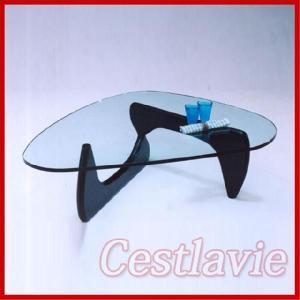 テーブル センターテーブル ガラス デザイナーズ|cestlavie