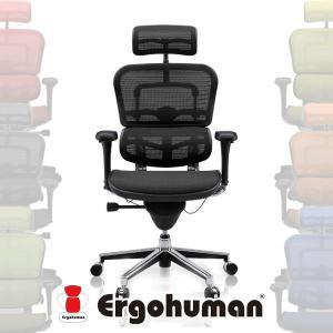 オフィスチェアー 肘付き キャスター付き エルゴヒューマン メッシュ EH-HAM|cestlavie