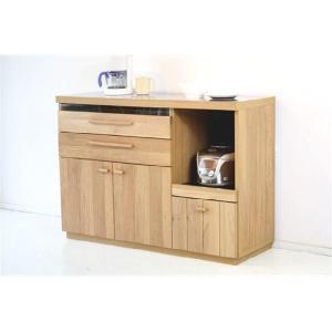 キッチンカウンター 食器棚 完成品  120cm幅 オクタ|cestlavie