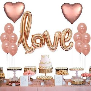 Tumao バルーン 結婚式 love 風船 13点セット パーティー 誕生日 飾り付け セットおし...