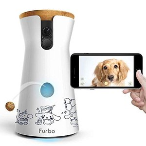 世界限定200台Furbo ドッグカメラ シナモロール コラボ 飛び出すおやつ 双方向会話 フルHD...