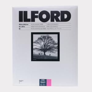 【外装不良】ILFORDPHOTO RC印画紙 マルチグレードIV RC デラックス 1M(Glossy光沢) 16x20 10枚入|cgc-webshop
