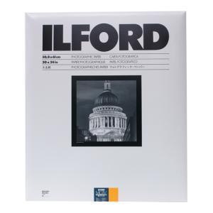 【外装不良】ILFORDPHOTO RC印画紙 マルチグレードIV RC デラックス 25M(Satin半光沢) 20x24 10枚入|cgc-webshop