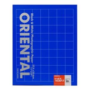 【外装不良】ORIENTAL RP印画紙 イーグルVCRP-F(光沢) 11x14 20枚入