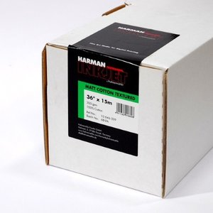 【生産終了・外装不良】HARMAN by Hahnemuhle インクジェットロール紙 HCT009 マットコットンテクスチャー 36inx15m|cgc-webshop