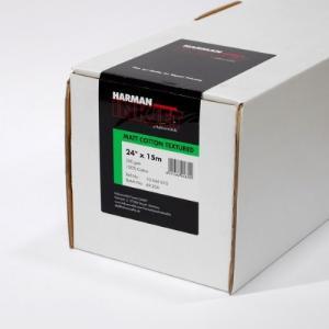 【生産終了・外装不良】HARMAN by Hahnemuhle インクジェットロール紙 HCT010 マットコットンテクスチャー 24inx15m|cgc-webshop