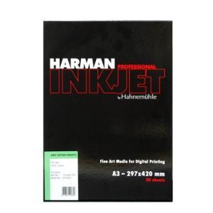 【生産終了】HARMAN by Hahnemuhle インクジェット用紙 HCS502 マットコットンスムーズ A3 30枚入|cgc-webshop