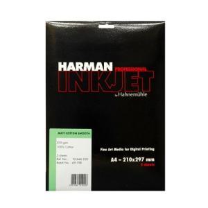 【生産終了】HARMAN by Hahnemuhle インクジェット用紙 HCS530 マットコットンスムーズ A4 5枚入 cgc-webshop