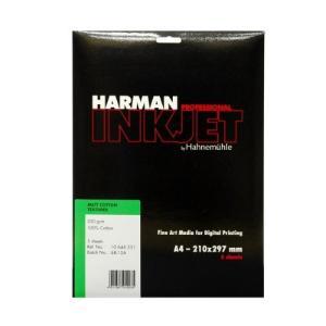 生産終了 HARMAN by Hahnemuhle インクジェット用紙 HCT531 マットコットンテクスチャー A4 5枚入の商品画像|ナビ