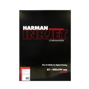 【生産終了】HARMAN by Hahnemuhle インクジェット用紙 HAF508 グロスアートファイバー A2 30枚入 cgc-webshop