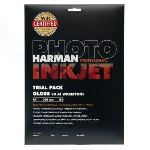 【生産終了】HARMAN PROFESSIONAL インクジェット用紙 GLOSS FB Al WT A4 5枚入|cgc-webshop