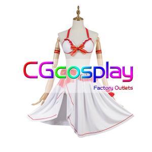 送料無料!! 激安!! ソードアート・オンライン Asuna アスナ 水着 コスプレ衣装|cgcos