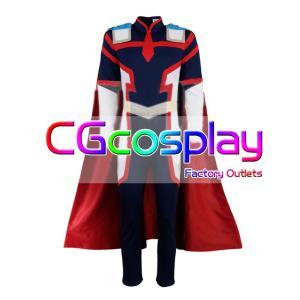 送料無料!! 激安!! 僕のヒーローアカデミア 戦闘服 オールマイト コスプレ衣装 cgcos