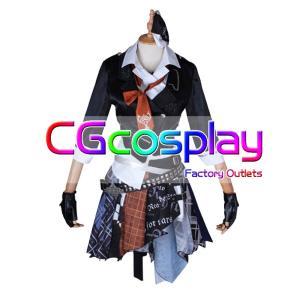 送料無料!! 激安!! THE IDOLM@STER CINDERELLA GIRLS デレステ ガールズ・イン・ザ・フロンティア 村上巴 コスプレ衣装|cgcos