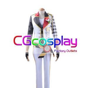 送料無料!! 激安!! ディズニー ツイステッドワンダーランド Disney Twisted-Wonderland トレイ・クローバー Trey Clover コスプレ衣装|cgcos