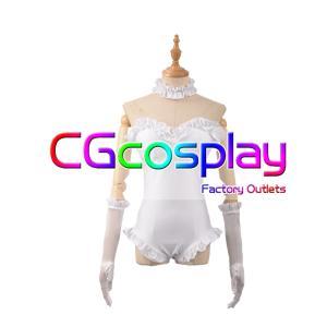 送料無料!! 激安!! スーパーマリオ クッパ姫 擬人化 白 コスプレ衣装|cgcos