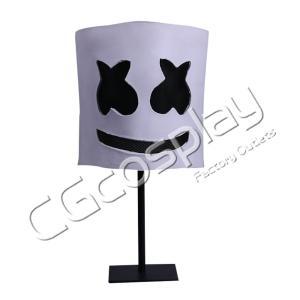 送料無料!! 激安!! ハロウィーン 仮面 Marshmello DJ マシュメロ マスク コスプレ仮面 コスプレ衣装|cgcos