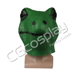 送料無料!! 激安!! ハロウィーン カエル 仮面 コスマスク コスプレ仮面 コスプレ衣装|cgcos