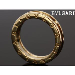 ブルガリ B-ZERO1 ビーゼロワンリング 750(K18YG) ♯60(20号)|cgf