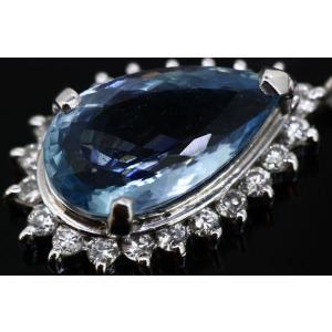 アクアマリン1.74ct ダイヤモンド0.24ct プラチナネックレス|cgf|02