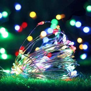 LED イルミネーションライト クリスマスライト バレンタインデー 飾り 電池式 10メートル 100電球 屋外 室内 ガー|cgrt
