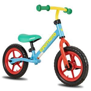 cycmoto 幼児用 ペダルなし自転車 2、3、4、5、6歳 子供用 バランス 12インチ 子ども用自転車 花火 子供トレーニン|cgrt