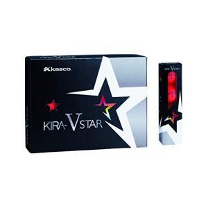 キャスコ(Kasco) ゴルフボール KIRA STAR V キラスターVN|cgrt