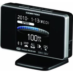 コムテック(COMTEC) 超高感GPSアンテナ内蔵レーダー探知機 ZERO 220V cgrt