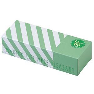 驚異の防臭袋 BOS (ボス) ストライプパッケージ/透明グリーンLLサイズ60枚入 大人用 おむつ ・ ペットシーツ ・ cgrt