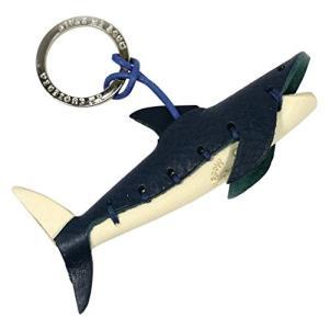 LA CUOIERIA(ラ・クオイエリア) キーホルダー ハンドメイド 本革 イタリア製 サメ P276|cgrt