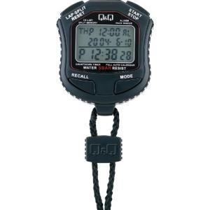 シチズン Q&Q ストップウォッチ スプリット ラップ計測 カウントダウンタイマー 付き HS45-001|cgrt