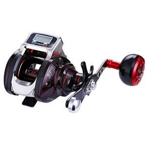 ラインカウンタリール 14ボールベアリング 高速比 6.3/1 ベイト リール 釣りリー デジタルディスプレイ付き 釣り cgrt