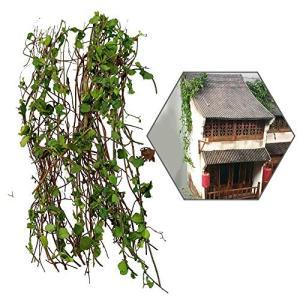 フェイクグリーン 人工観葉植物 造花 藤 壁掛け 枯れない植物 情景コレクション 風景 箱庭 鉄道模型 建物模型 cgrt