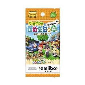 『とびだせ どうぶつの森 amiibo+』amiiboカード (1パック単品)|cgrt