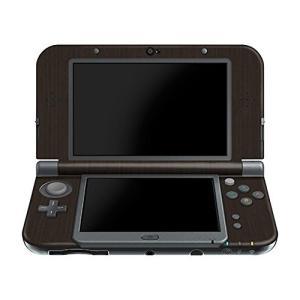 NEW 3DS LL メタル調プレミアムスキンシール【ブラッシュドダークチタン】|cgrt