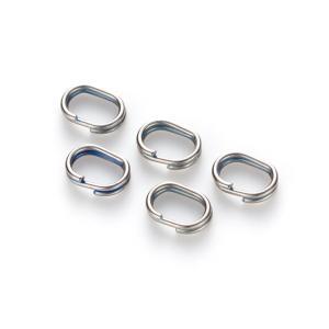 ●リボンとスティックの先端金具とをつなぐリングの交換用パーツ ●丸型と比べて強度がUP ●楕円スプリ...
