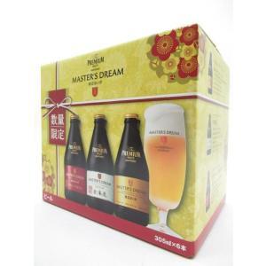 サントリー ザ・プレミアム・モルツ マスターズドリーム 3種アソート 305ml×6瓶 ビールの商品画像|ナビ