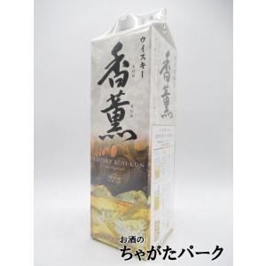 合同酒精 香薫 ウイスキー 紙パック 37度 1800ml