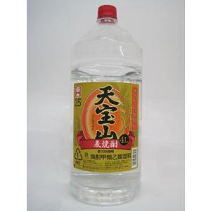 中国醸造 天宝山 麦焼酎 ペットボトル 25度 4000ml