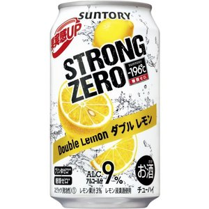 サントリー -196℃ ストロングゼロ ダブルレモン 9度 350ml×1ケース(24本) ■順次新...
