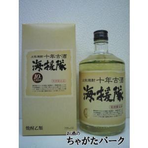 土佐鶴酒造 土佐焼酎 海援隊 十年古酒 米焼酎 25度 720ml