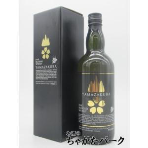 笹の川酒造 山桜 黒ラベル ブレンデッドウイスキー 40度 700ml