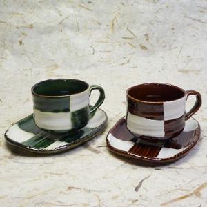 美濃焼白釉一珍、黒釉一珍軽量珈琲碗皿(ペアコーヒーカップ、紅茶等)(メッセージカードサービスあり)|chagokorochaya