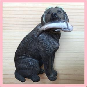 【ネコポス便】  マグネット  ラブラドール   レトリバー(黒)  【犬グッズ  激安】|chaidee-wanwan