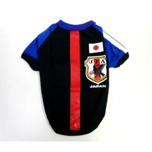 (犬服 ネコポス便)Tシャツ/ワンピ サッカー日本代表応援ウェア 4号(激安 ドッグウェア Tシャツ)|chaidee-wanwan|03