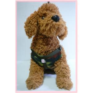 【ハーネス&リード】【ネコポス便】【数量限定】【冬仕様】胸当てパット・(迷彩柄)【小型犬用】|chaidee-wanwan