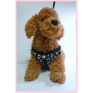【ハーネス&リード】【ネコポス便】【数量限定】【冬仕様】胸当てパット・(豹柄色々)【小型犬用】|chaidee-wanwan