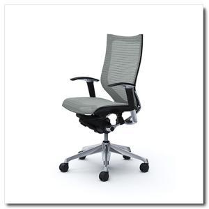 オカムラ オフィスチェア バロン スタンダードメッシュ ハイバック アジャストアーム ポリッシュフレーム|chairkingdom