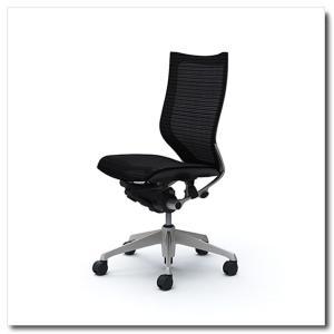 オカムラ オフィスチェア バロン スタンダードメッシュ ハイバック 肘なし シルバーフレーム|chairkingdom